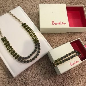 Biden bracelet and necklace with boxes